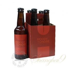 4 bottles of Moody Tongue Sliced Nectarine IPA