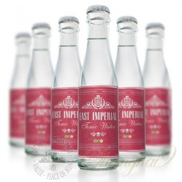 6 Bottles of East Imperial Burma Tonic Water