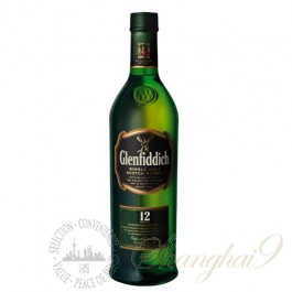 Glenfiddich 12 Year Old Single Speyside Malt Scotch Whisky