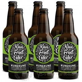 6 Bottles Kunekune Kiwifruit Cider