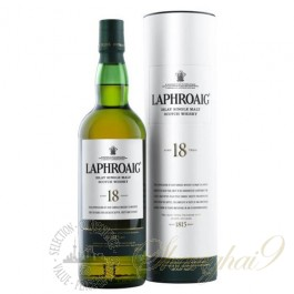 Laphroaig 18 Year Old Single Islay Malt Scotch Whisky 48% ABV
