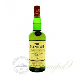 The Glenlivet 12 Year Old Single Speyside Malt Scotch Whisky