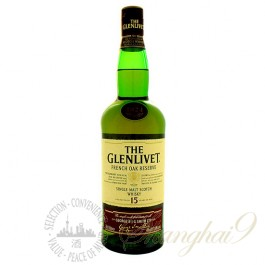 The Glenlivet 15 Year Old French Oak Reserve Single Speyside Malt Scotch Whisky
