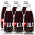 6 bottles of CAPI Cola Premium Craft Soda