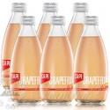 6 bottles of CAPI Grapefruit Australian Fruit Soda