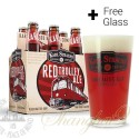 6 Bottles of Karl Strauss Red Trolley Ale + FREE Glass