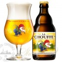 One case of La Chouffe + One La Chouffe Glass