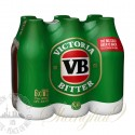 6 bottles of VB (Victoria Bitter)