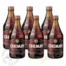 6 Bottles of Chimay Red