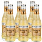 6 bottles of Fever Tree Ginger Ale
