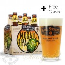 6 Bottles of Karl Strauss Mosaic Session IPA + FREE Glass