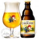 比利时舒弗啤酒啤酒一箱 + 一个舒弗杯子(330ml*24瓶)