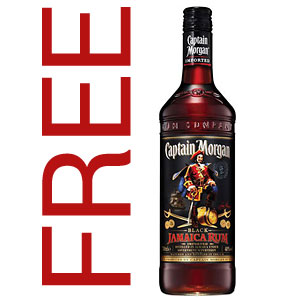 Captian Morgan Dark Rum