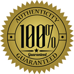 100% Authenticity Guaranteed