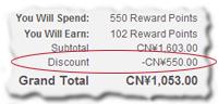 Spending Points