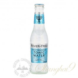 One case of Fever Tree Mediterranean Tonic Water