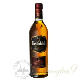 Glenfiddich 15 Year Old Single Speyside Malt Scotch Whisky