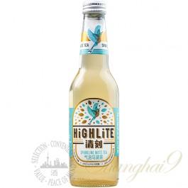 12 bottles of Highlite Sparkling Mate Tea