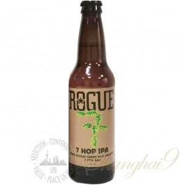 One case of Rogue Farms 7 Hop IPA
