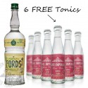 Fords London Dry Gin (w/6 FREE East Imperial Burma Tonic)