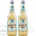 2 bottles of Highlite Sparkling Mate Tea