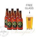 6 Bottles of Mornington IPA + FREE Glass