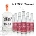 Peddlers Gin (w/6 FREE East Imperial Burma Tonic)