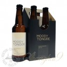 4 bottles of Moody Tongue Applewood Gold