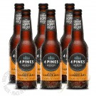 6 bottles of 4 Pines American Amber Ale