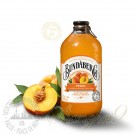 One case of Bundaberg Peach Sparkling Drink