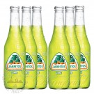 6 bottles of Jarritos Lime Soda