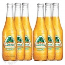 6 bottles of Jarritos Mango Soda