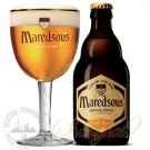One case of Maredsous 6 Blonde + One Maredsous Glass