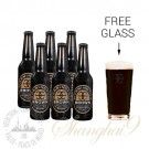 6 Bottles of Mornington Brown + FREE Glass