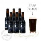 6 Bottles of Mornington Imperial Stout + FREE Glass