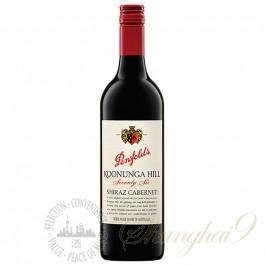 奔富寇兰山76设拉子赤霞珠红葡萄酒