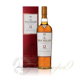 麦卡伦12年单一麦芽苏格兰威士忌(斯佩塞)